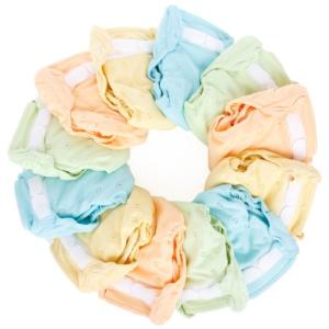 Couches bébés lavables ré-utilisables