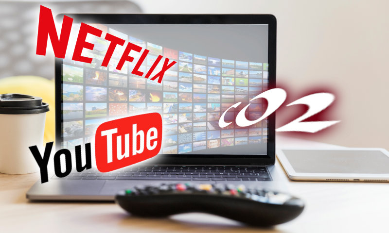 Streaming video et impact écologique (CO2)