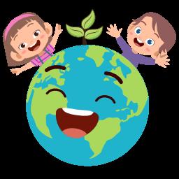 Logo terre enfants écologie